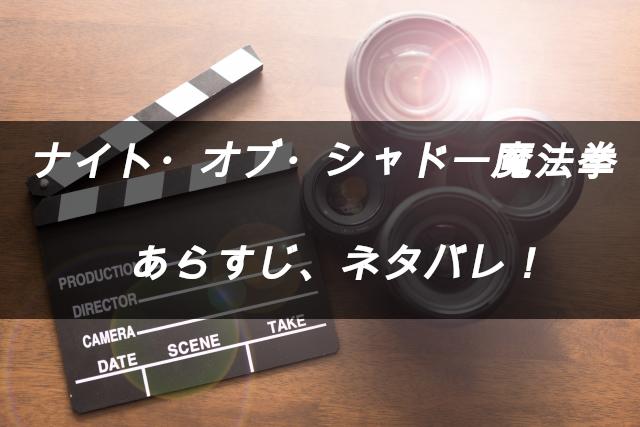 映画ナイト・オブ・シャドー魔法拳 あらすじネタバレ