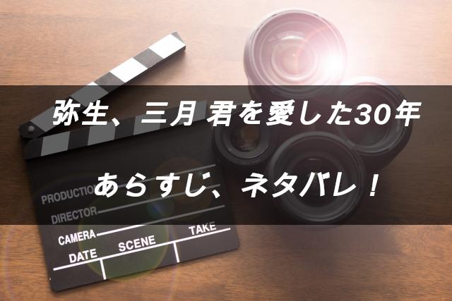 映画「弥生、三月 君を愛した30年」 あらすじネタバレ