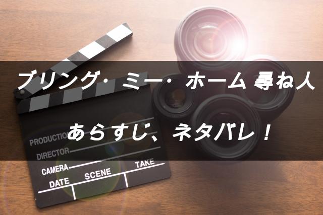 映画「ブリング・ミー・ホーム 尋ね人」のあらすじネタバレ
