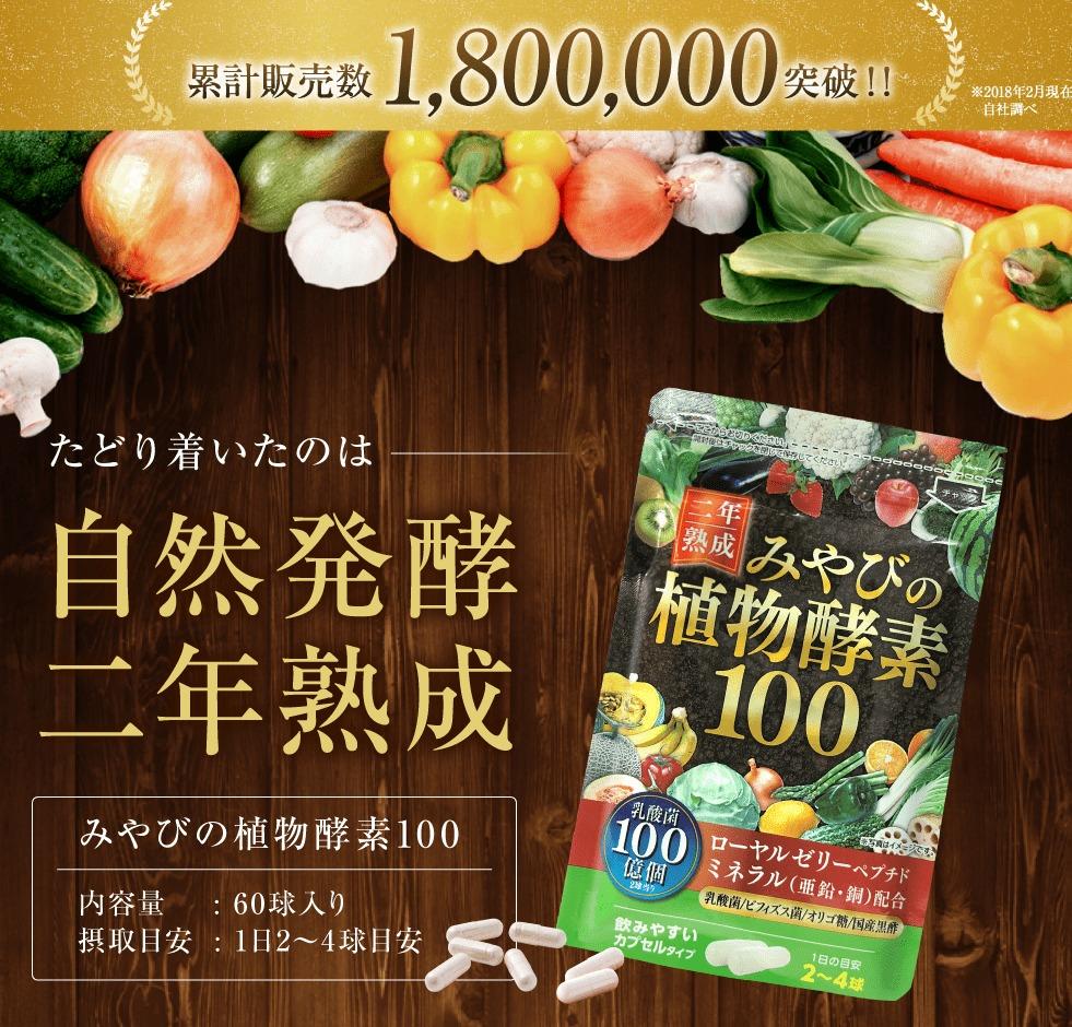 みやびの植物酵素100 販売店